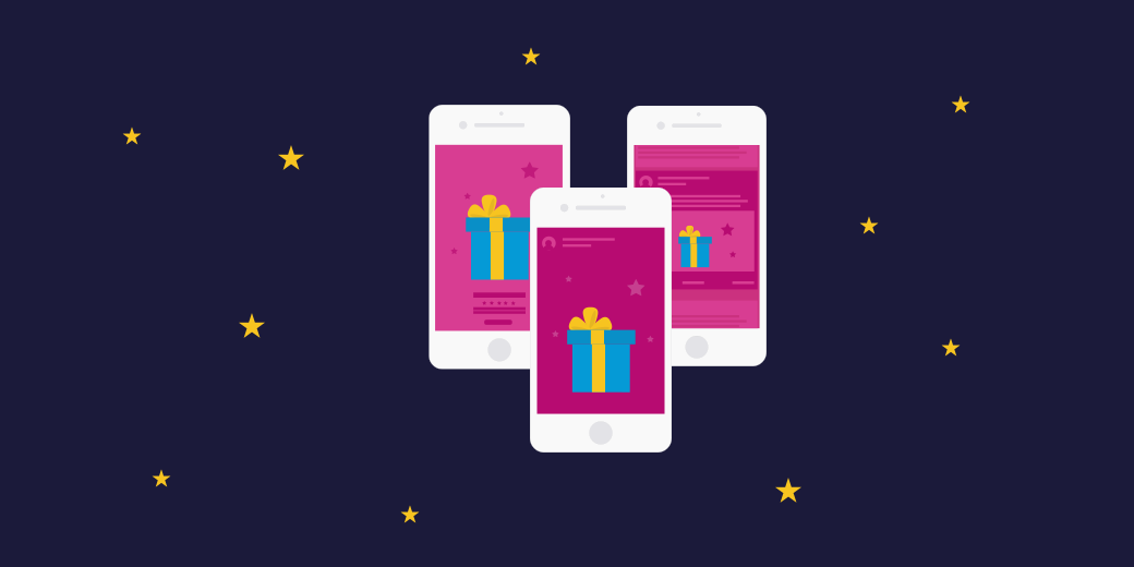 Last-minute Christmas Ads for eCommerce [infographic]